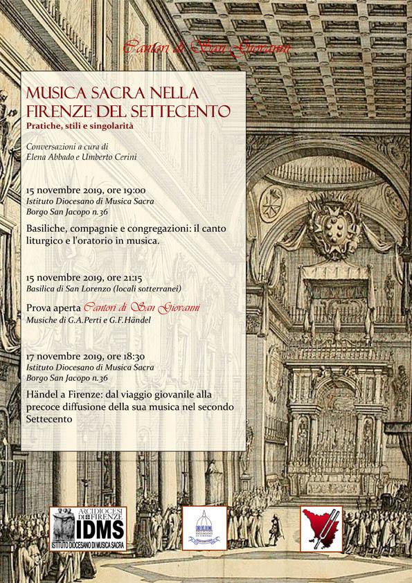 Musica Sacra nella Firenze del Settecento - Cantori di San Giovanni